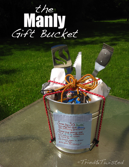 The Manly Gift Bucket