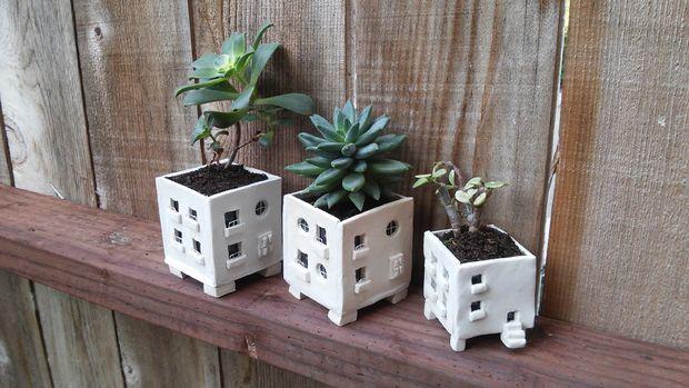 Mini Apartment Planters
