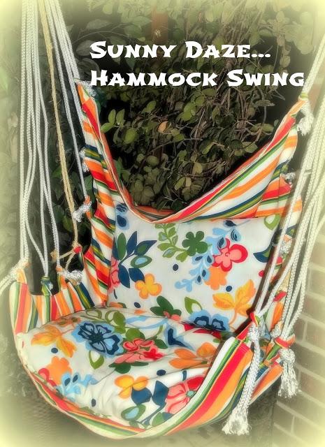 Sunny Dazy Hammock Swing