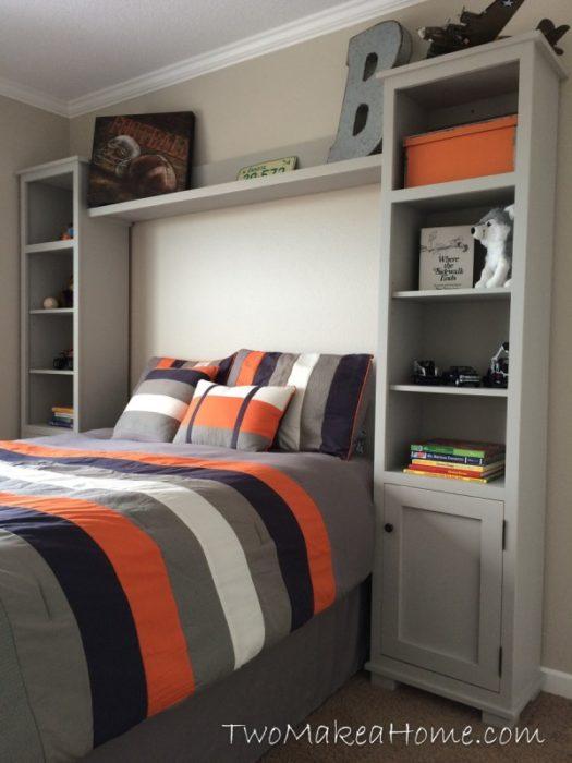 Build Bedroom Storage Towers