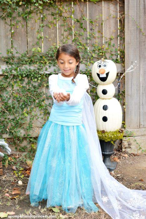 DIY Disney Elsa Costume