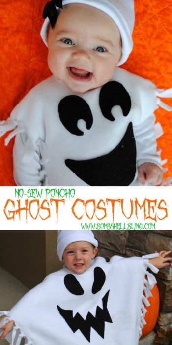 Easy No Sew Ghost Costume