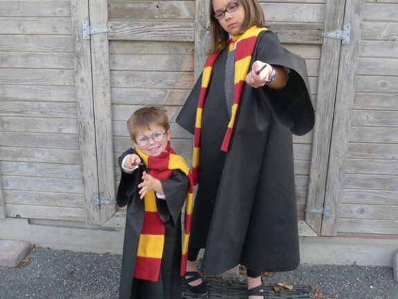 Easy Oly Fun Harry Potter Costume W No Sew Option