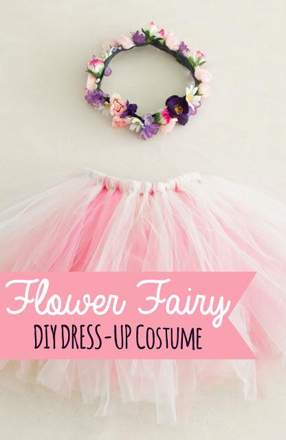 Flower Fairy DIY Dress Up Costume