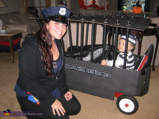 Police Officer and Inmate