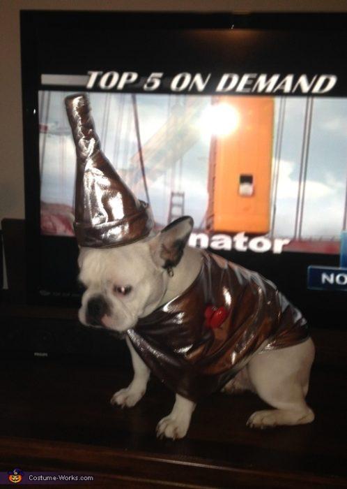 French Bulldog Tin Man