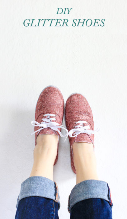 how-to-make-glitter-shoes