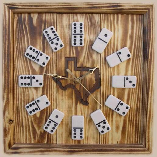 rustic-looking-domino-clocks