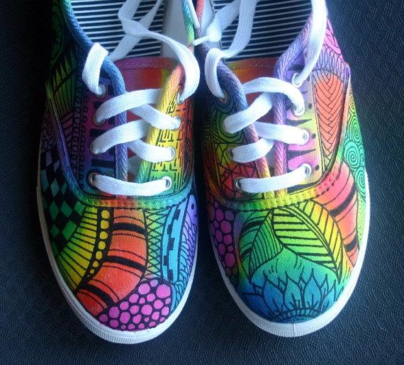 zentangle-sneakers