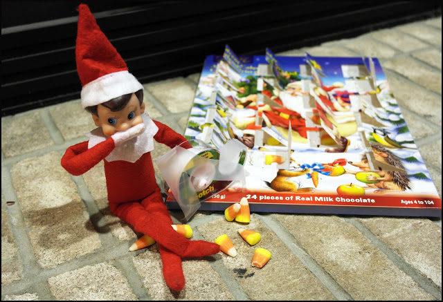 elf-on-the-shelf-and-advent-calendar