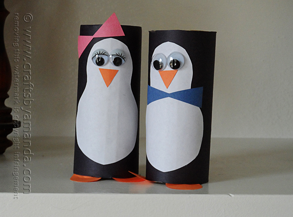 cardboard-tube-penguins