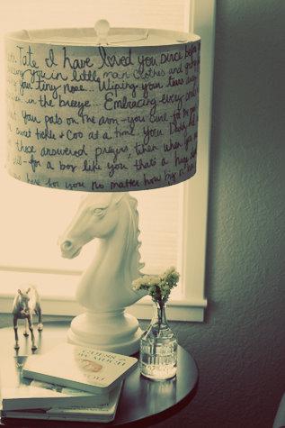 Sharpie Marker Lamp Shade