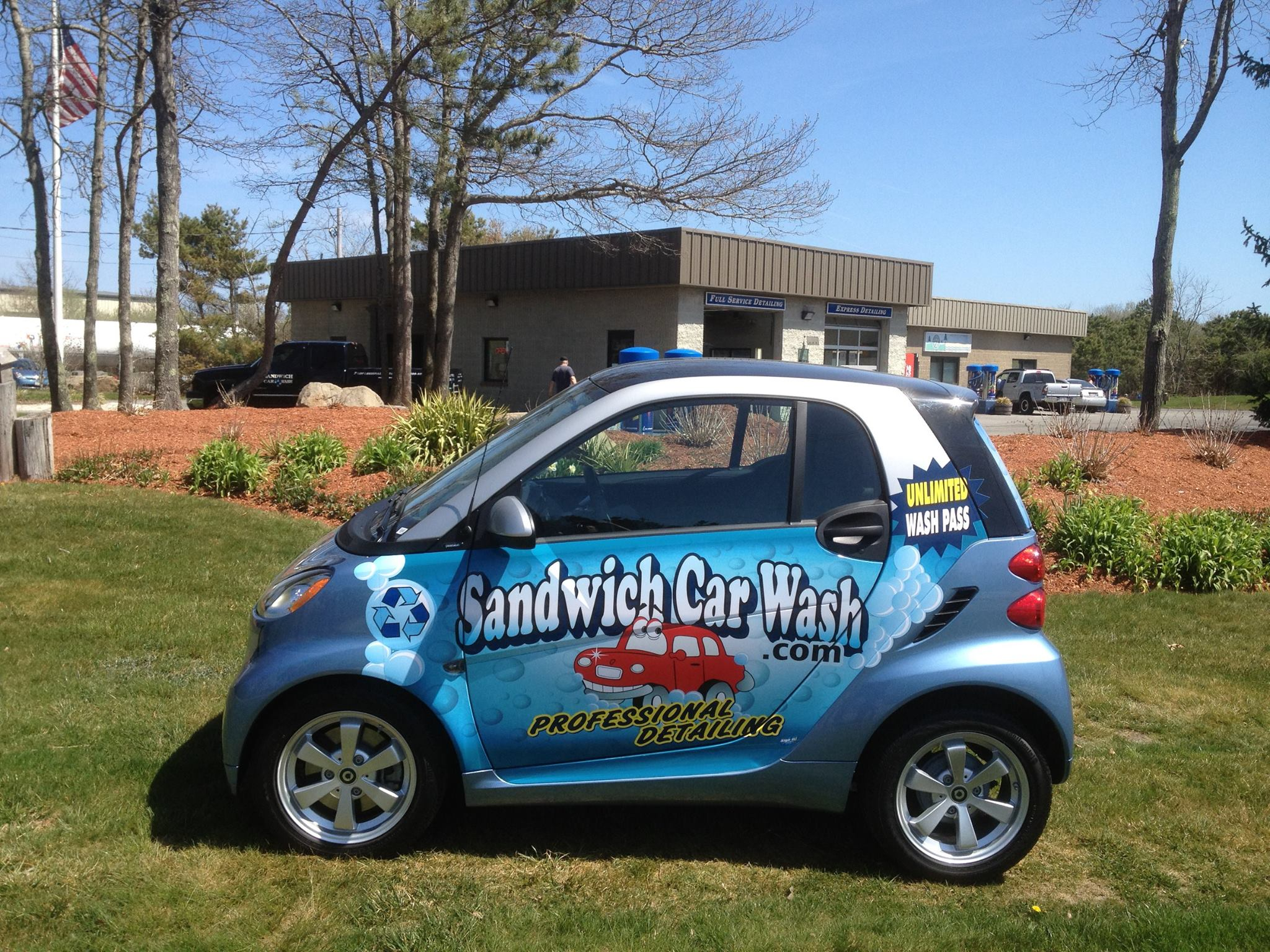 sandwich car wash