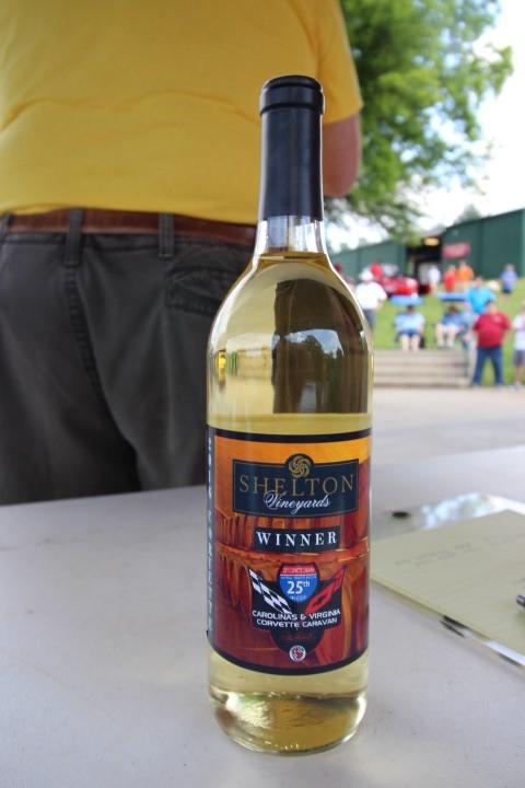 Winners Received Wine Award