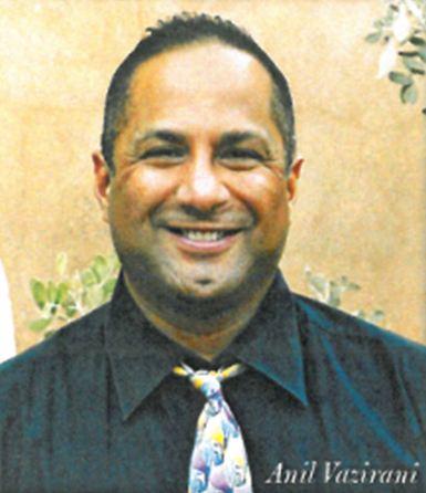 Anil Vazirani, Series 65 license, Investment Advisor Rep