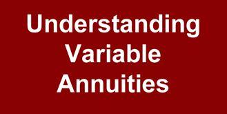 Anil Vazirani risks of Variable Annuities