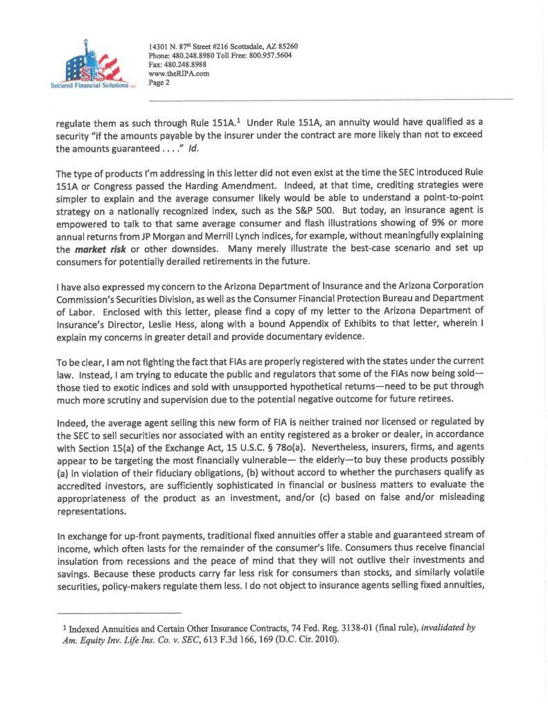 Anil Vazirani, SEC, Nationwide NYSE Zebra Edge Annuity Sales