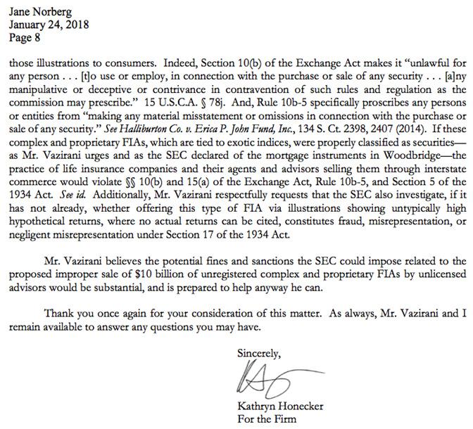Anil Vazirani, SEC Ponzi schemes and Woodbridge connection to FIA