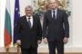 السفير يعقوب العتيقيمهنئاً الرئيس البلغاري الجديد الجنرال رومن رادف بمناسبة تنصيبه