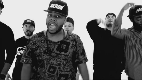 """Music video: Swoope """"#SameTeam Remix (feat. Jackie Hill, Taelor Gray, KB, JGivens, Alex Faith, and Kidd)"""""""
