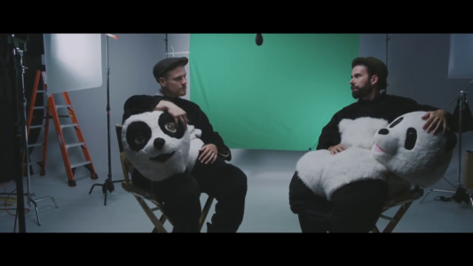 """Rend Collective + Pandas = Awesomeness. That equation also equals their brand new music video for """"You Will Never Run,"""" the lead single off Rend Collective's brand new As Family We Go album out this Friday."""