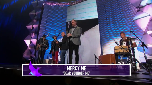 Video: Watch MercyMe's Performance Of Dear Younger Me At The Dove Awards