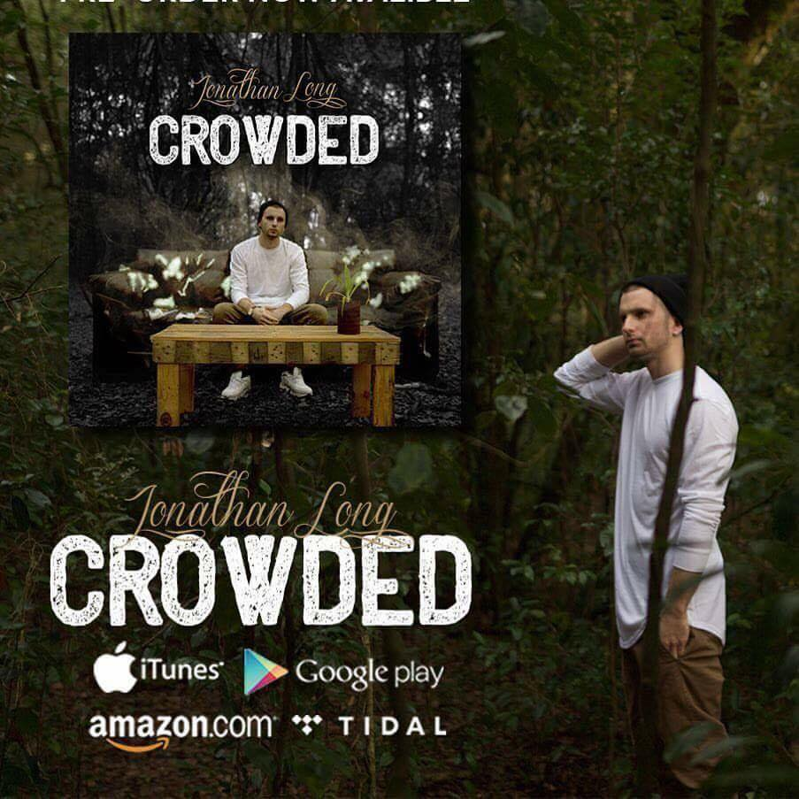 """Jonathan Long Launches Pre-Orders For """"Crowded"""" EP"""