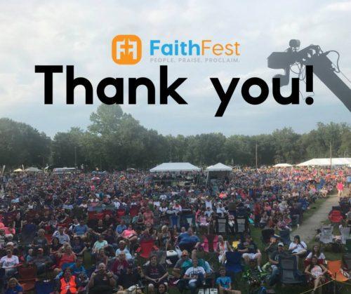 FaithFest NC Debut Draws Thousands - Finding Favour, Matthew West, Unspoken, Phil Wickham & More