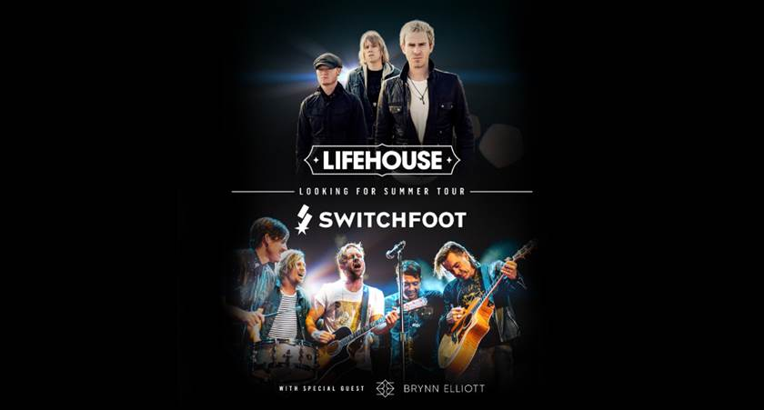 """LIFEHOUSE AND SWITCHFOOT UNITE ON FOR THE FIRST TIME ON """"LOOKING FOR SUMMER"""" TOUR"""
