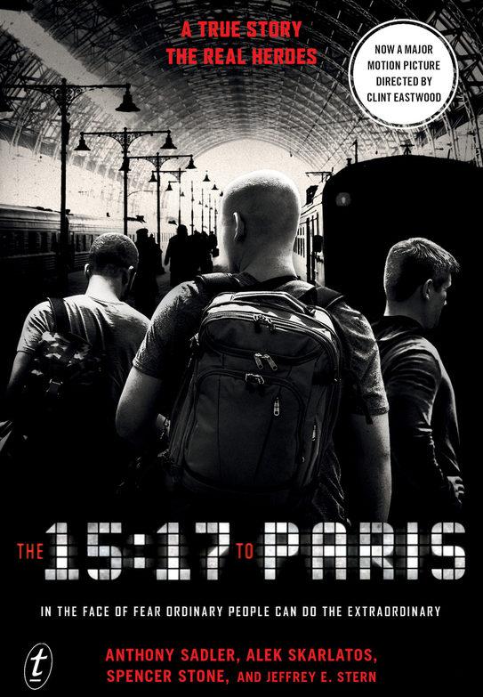 The 15:17 to Paris movie poster
