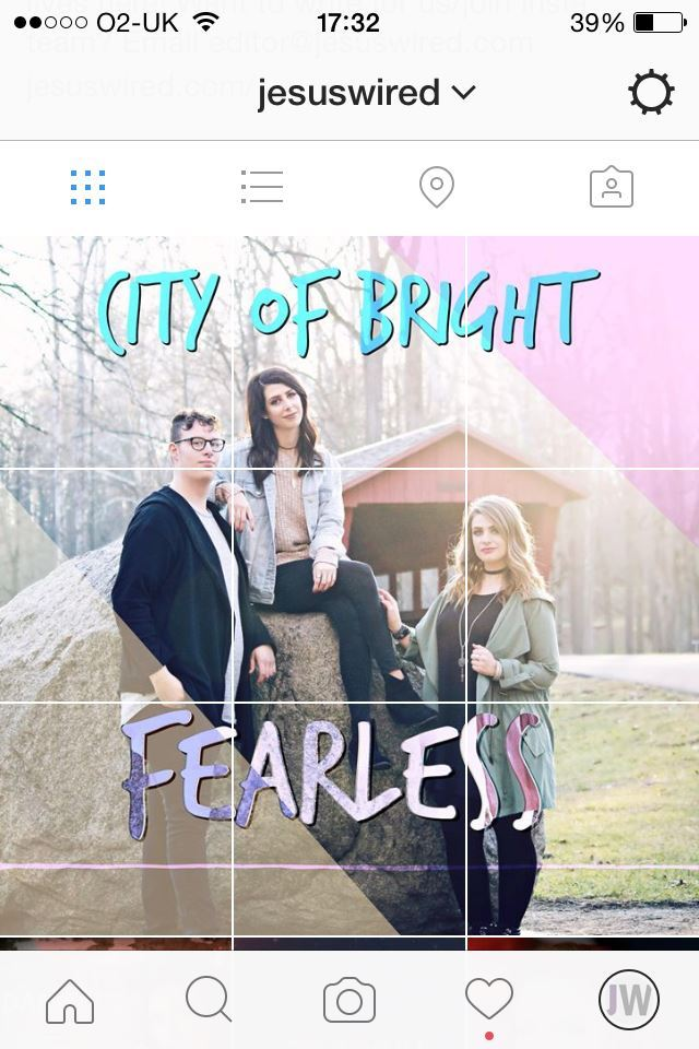 JesusWired Exclusive: City Of Bright's Fearless EP Cover Revealed