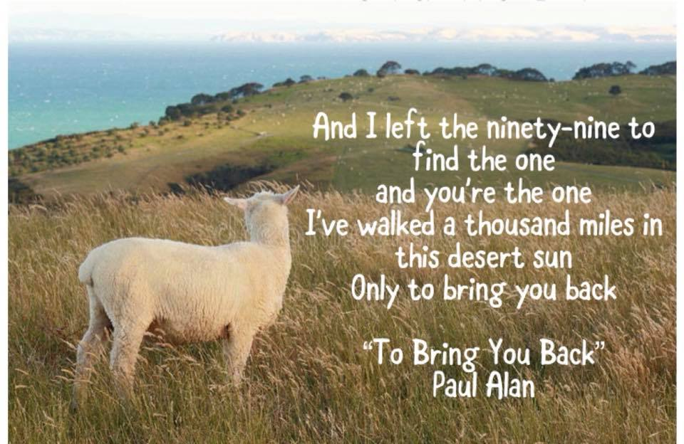 The Eccentric Sheep Musings: He Left the 99 to Find the One