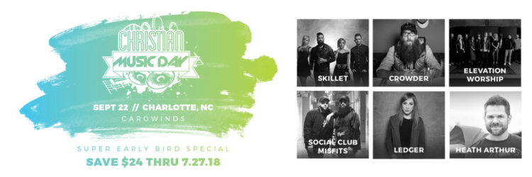 Christian Music Day At Carowinds – September 22, 2018