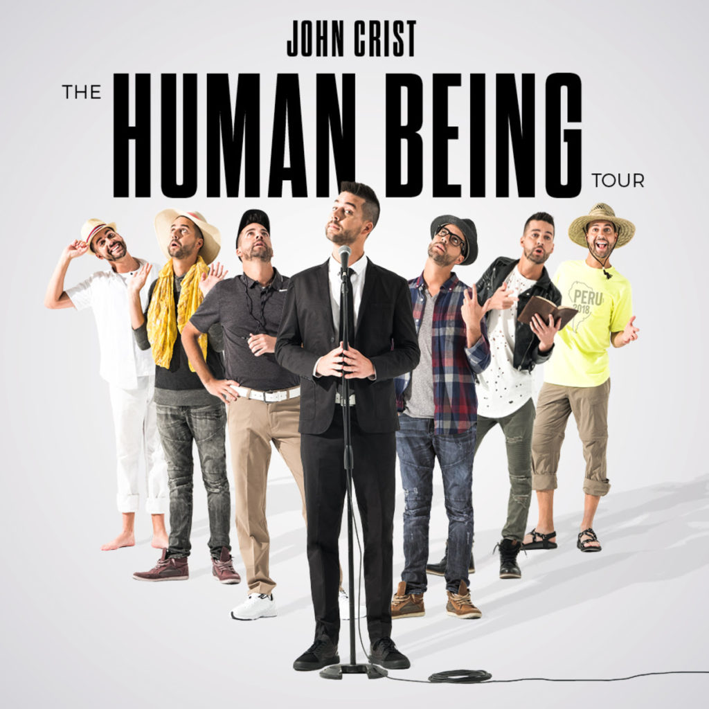 """John Crist and Premier Productions Announce Nationwide """"The Human Being"""" Tour"""