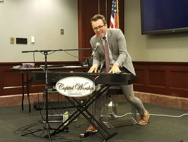 CURT ANDERSON BRINGS CHRISTIAN MUSIC TO CAPITOL HILL
