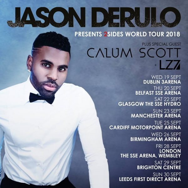 LZ7 Announce They'll Be Joining Jason Derulo on his 2Sides World Tour; Announce Band Changes
