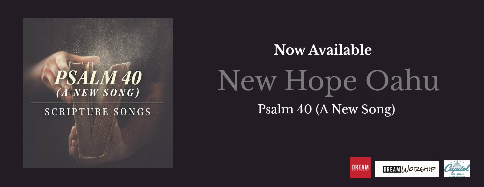 New New Hope Oahu Single - Psalm 40 (A New Song)