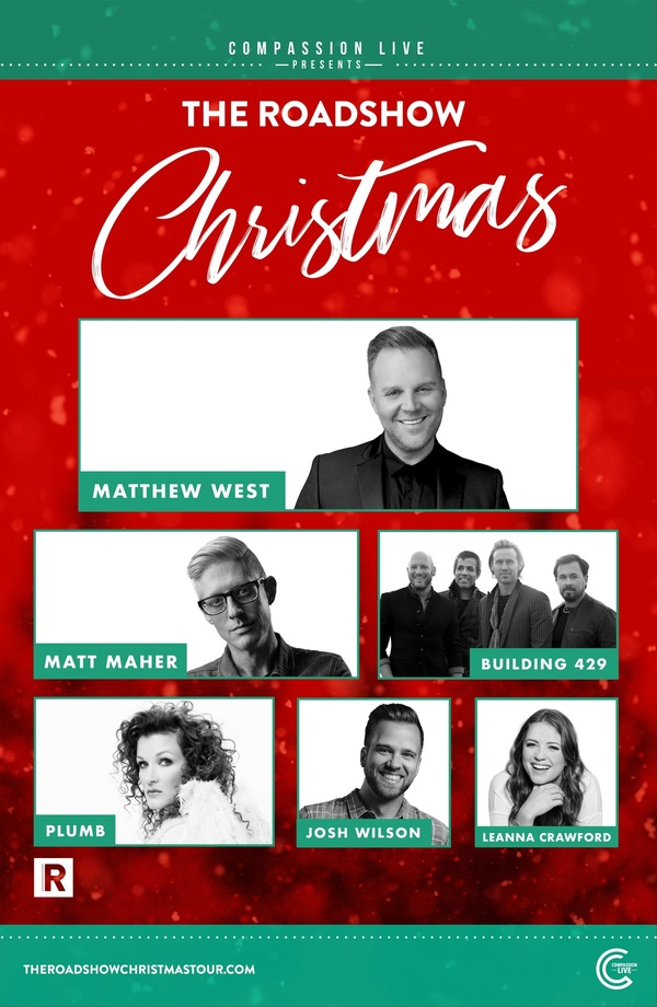 """First Ever """"The Roadshow Christmas Tour"""" and Fan-Favorite """"The Roadshow Tour"""" Announce 29 Stops Nationwide"""
