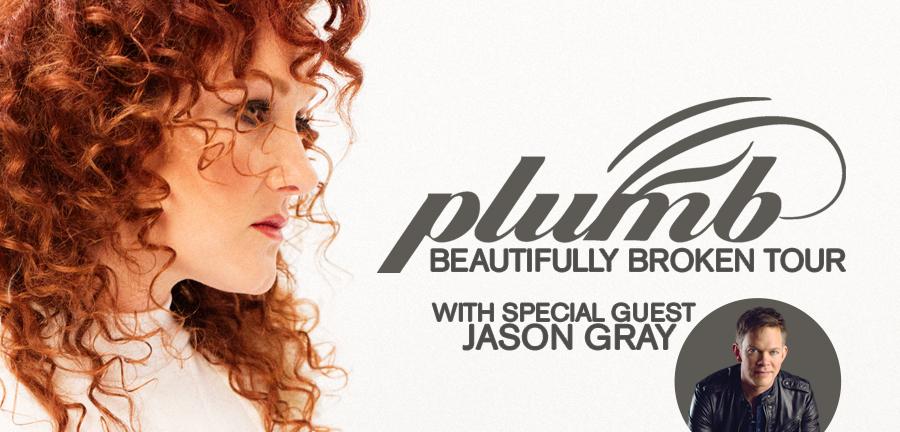 Beautifully Broken Tour With Plumb and Jason Gray Kicks Off November 2