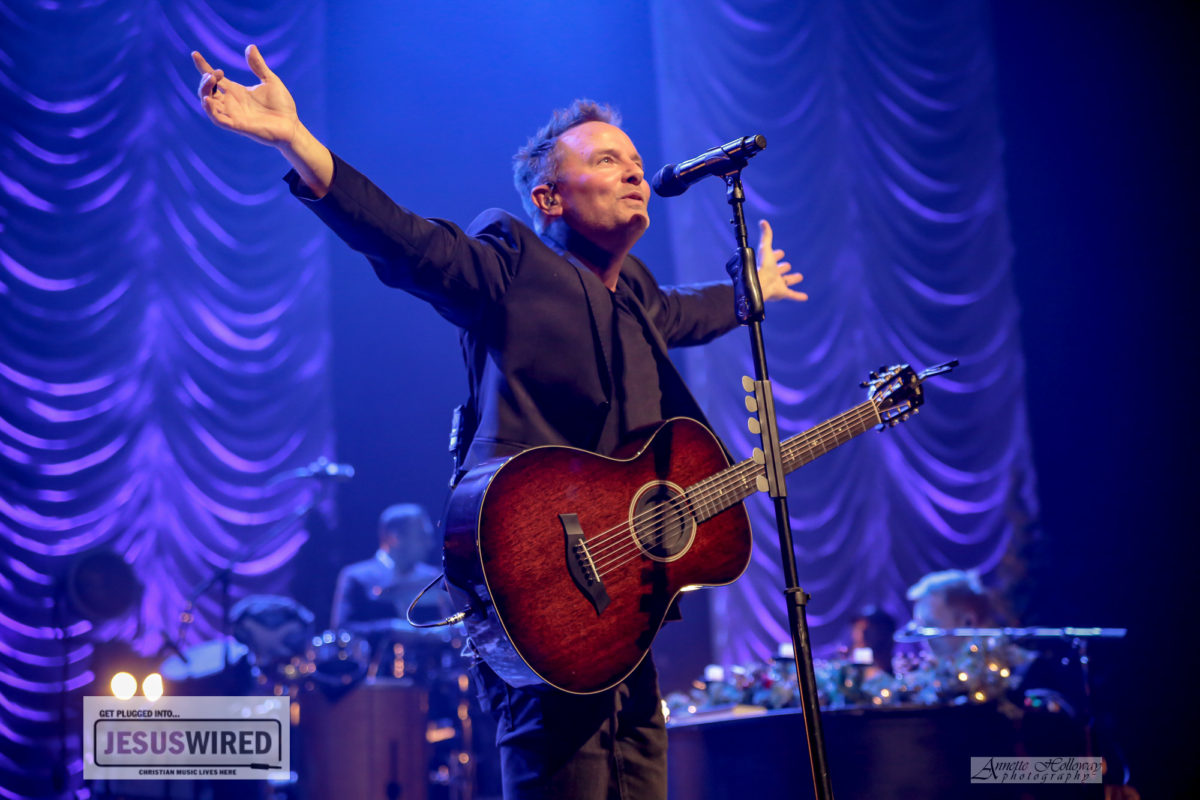Surprises from start to finish at Chris Tomlin's Christmas Songs of Worship Tour