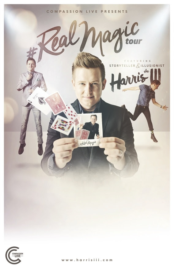 Real Magic Tour with Harris III to Take Flight This March and April