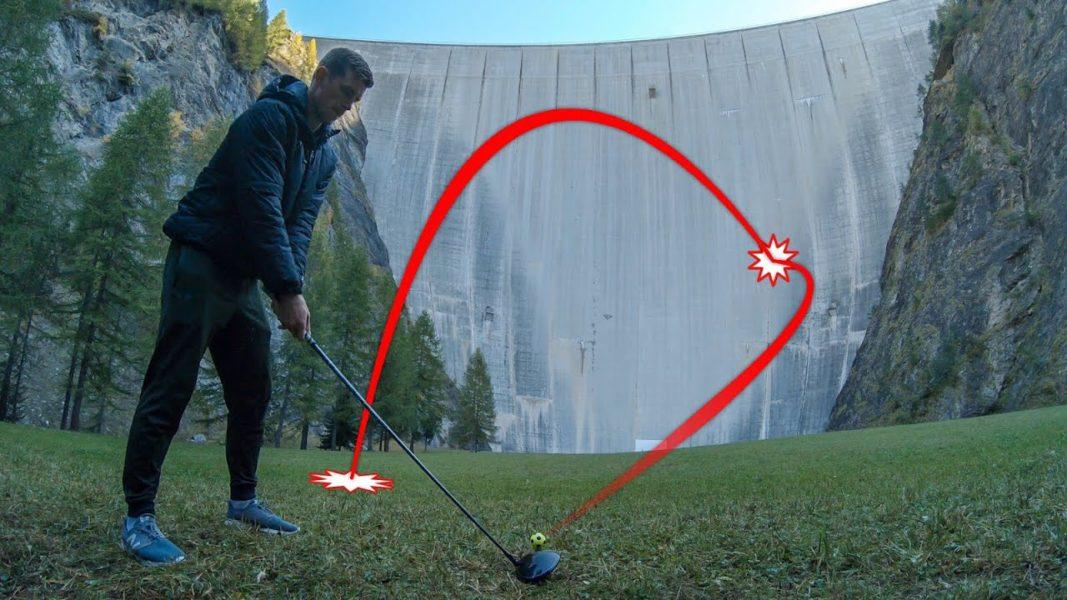 How Ridiculous: Catching Golf Balls off 165m Dam