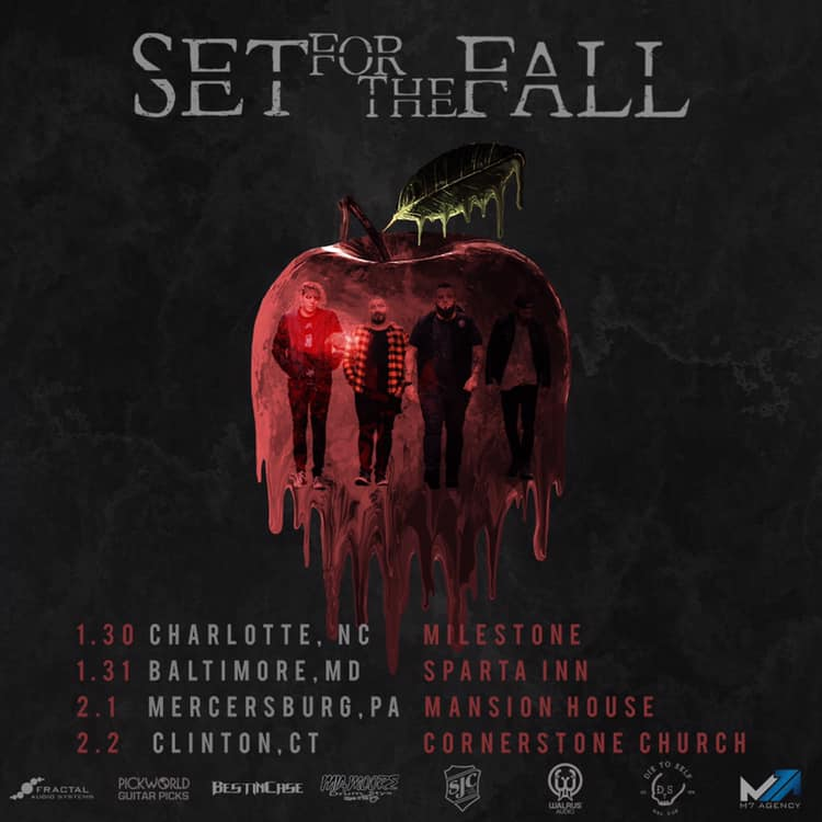 Set For The Fall Starts the New Year Right with a Few Northeast Dates