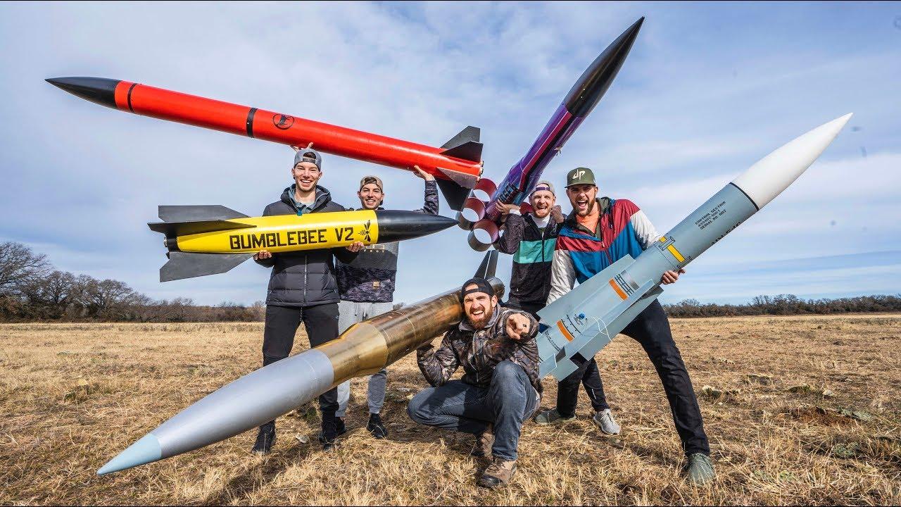Dude Perfect: Model Rocket Battle 2