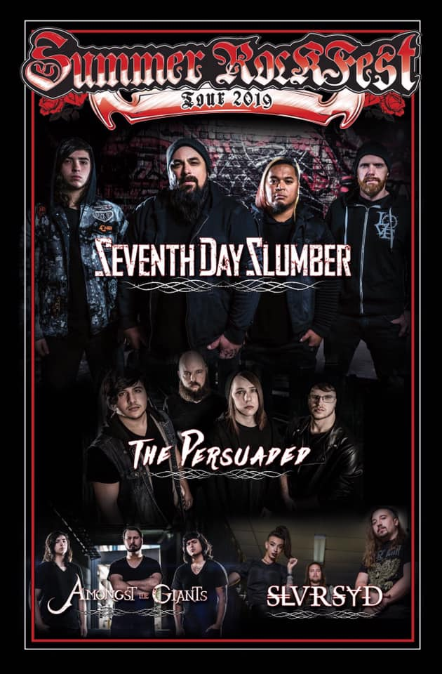 Summer Rockfest 2019 Includes The Persuaded, Silversyde, and More