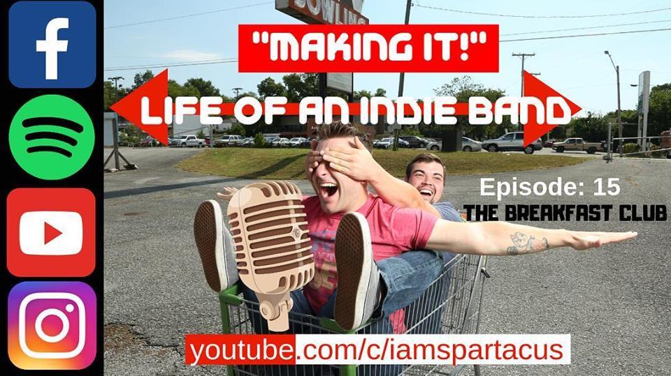 Vlog: I Am Spartacus - The Breakfast Club