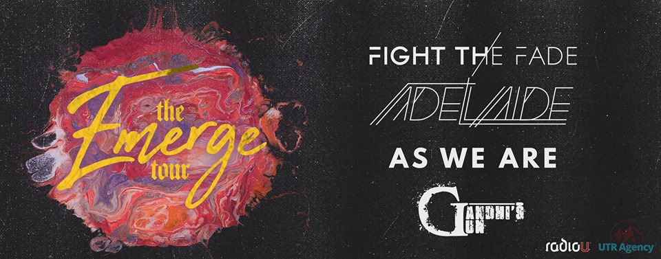Catch Fight The Fade, Adelaide, and More on The Emerge Tour 2019