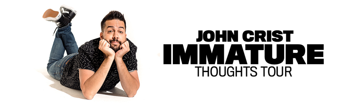 """John Crist Announces Brand New Fall Tour Hitting Both USA And Canada With Headlining """"Immature Thoughts Tour"""""""