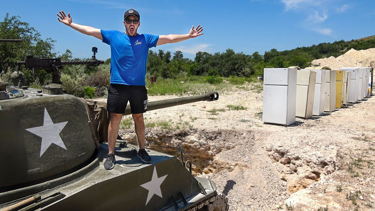 How Ridiculous Celebrate 5 Million Subscribers With Some Fridges. Oh and a tank.