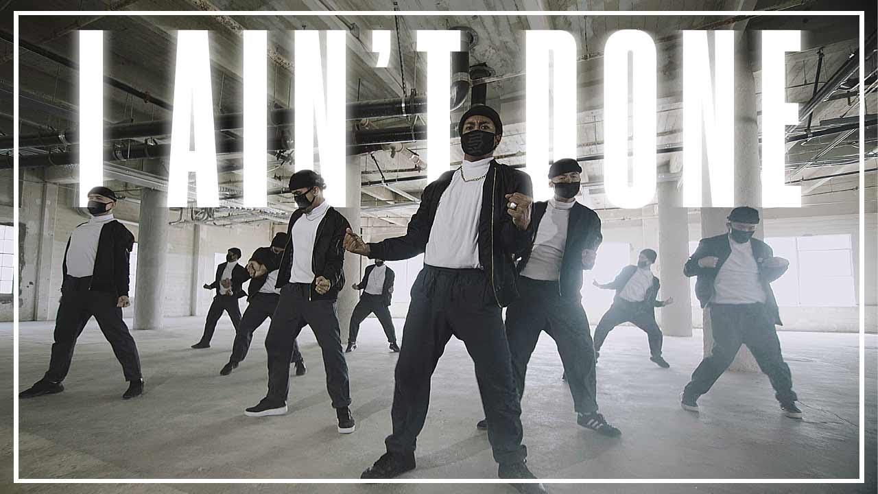 The KINJAZ Drop Sick Andy Mineo I Ain't Done Dance Video